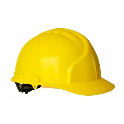 climax m77795 casco albail homologado 5 rs amarillo - Casco Albañil - Seguridad Construcción