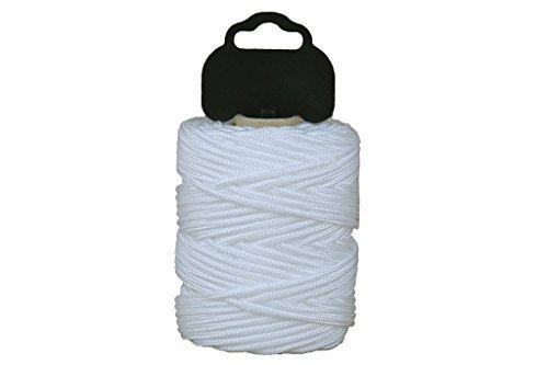 cofan 08101009 hilo de albail trenzado en poliamida blanco 1 mm x 100 m - Hilo de Albañil