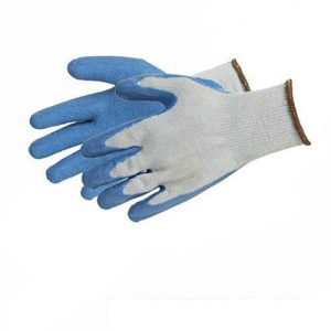 silverline 427550 guantes de ltex para albail talla grande 300x300 - Guantes de Albañilería