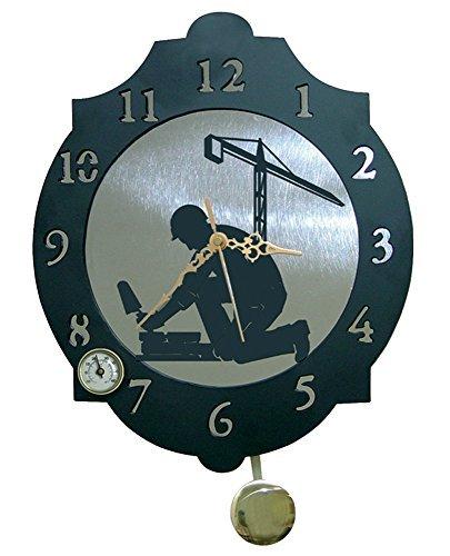 imex el zorro el zorro 11334 reloj albail 374 x 312 mm metal gris - Relojes de Albañil