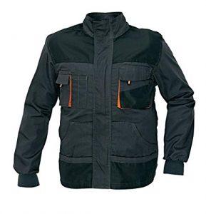 stenso emerton chaqueta de trabajo multiusos durable gris oscuronegro 289x300 - Chaquetas de Trabajo