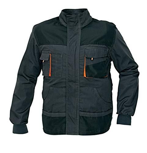 stenso emerton chaqueta de trabajo multiusos durable gris oscuronegro - Chaquetas de Trabajo